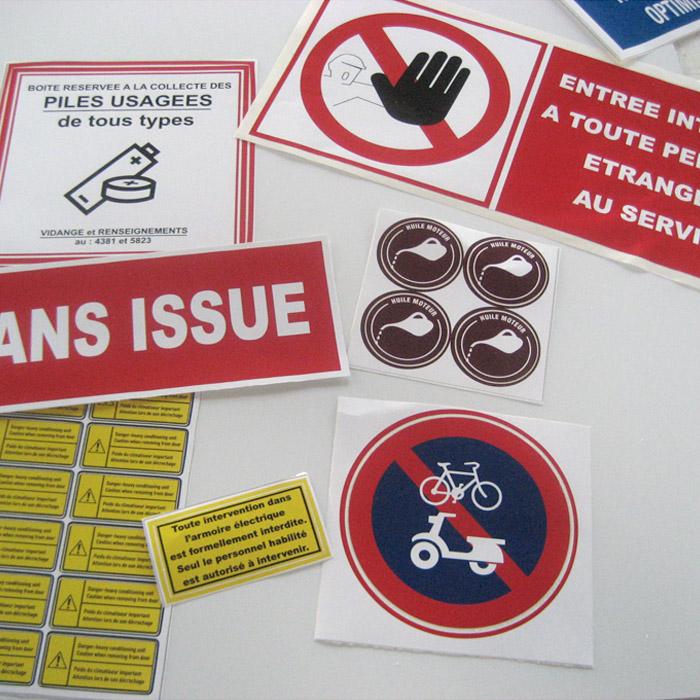 Signalisation usines et sécurité